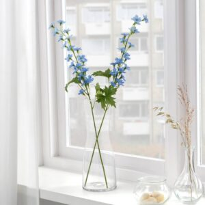 СМИККА Цветок искусственный, д/дома/улицы/Дельфиниум синий 60 см - 304.760.63