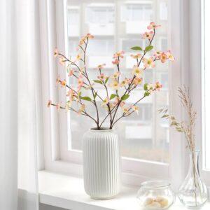СМИККА Цветок искусственный, д/дома/улицы/Дерен розовый 56 см - 904.760.55