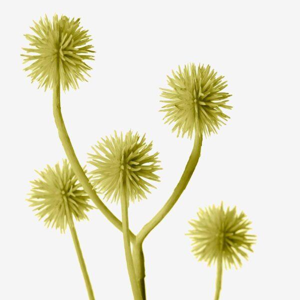 СМИККА Цветок искусственный, д/дома/улицы/Стирлингия зелено-желтый 45 см - 804.760.65