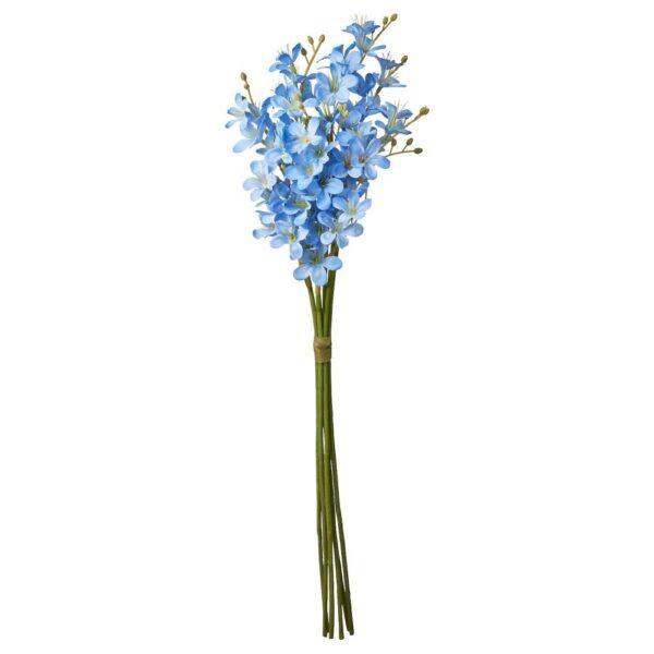 СМИККА Искусственный букет, д/дома/улицы/Фрезия синий 43 см - 204.760.54