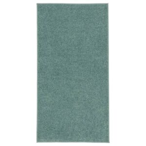 СПОРУП Ковер, короткий ворс, серо-бирюзовый 80x150 см - 804.876.67