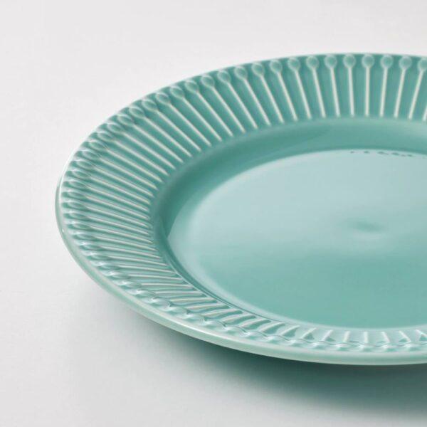 СТРИММИГ Тарелка десертная, бирюзовый 21 см - 804.862.86