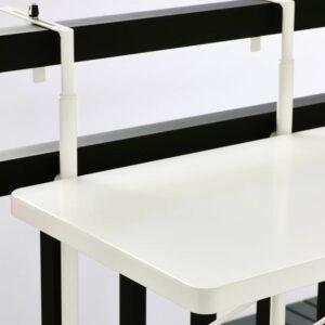 ТОРПАРЁ Стол балконный, белый 50 см - 704.613.47