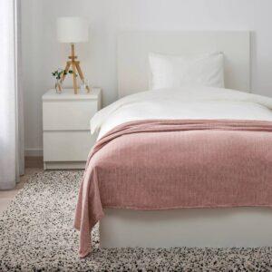 ЮЛВАЛИ Плед, светло-розовый 130x170 см - 904.878.36