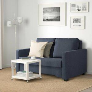 БЭККСЕДА 2-местный диван-кровать, Сандсбру темно-синий - 204.804.85