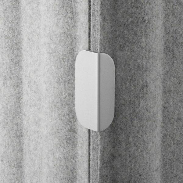 ЭЙЛИФ Экран д/письменного стола, серый 160x48 см - 404.827.80