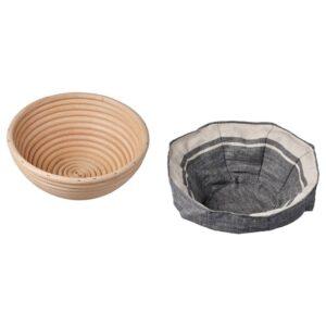 ЯСНИНГ Корзина для расстойки теста/хлеба 22 см - 704.801.38