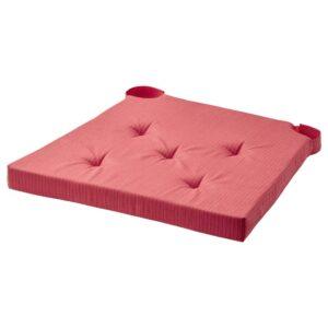ЮСТИНА Подушка на стул, красный 42/35x40x4 см - 604.728.22