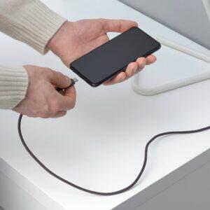 ЛИЛЛЬХУЛЬТ Кабель USB тип А – USB тип С, серый 1.5 м - 204.838.65