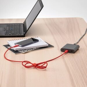 ЛИЛЛЬХУЛЬТ Кабель USB тип А – USB тип С, текстиль/оранжевый 1.5 м - 104.928.94