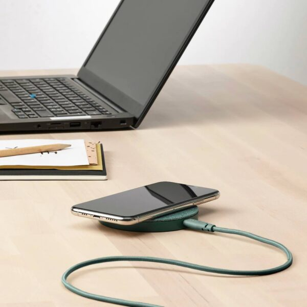 ЛИЛЛЬХУЛЬТ Кабель USB тип А – USB тип С, текстиль/серо-бирюзовый 1.5 м - 104.929.07