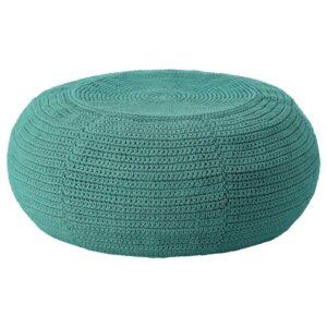 ОТТЕРЁН Чехол пуфа, для дома/сада, темно-зеленый 58 см - 304.564.18
