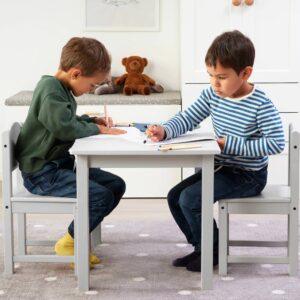СУНДВИК Детский стул, серый - 504.940.18