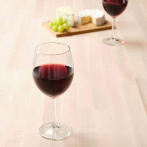 СВАЛЬК Бокал для вина, прозрачное стекло 44 сл - 804.730.24