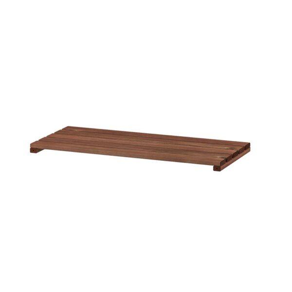 ТУРД Полка для садового стеллажа, коричневая морилка 70x32 см - 304.431.00