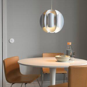 ТРЮББНАТЕ / ХЕММА Подвесной светильник, белый - 094.193.62