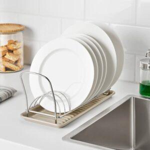 ВЭЛВОРДАД Посудная сушилка, нержавеющ сталь 12x32 см - 104.737.15