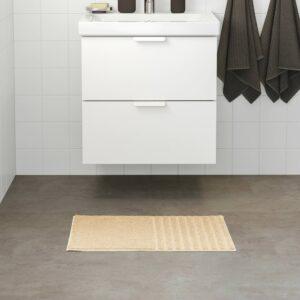 ВИННФАР Коврик для ванной, светло-бежевый 40x60 см - 804.881.53