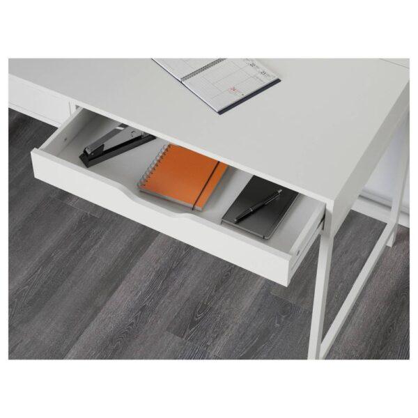 АЛЕКС Письменный стол, белый 132x58 см - 404.834.40