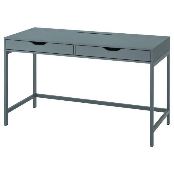АЛЕКС Письменный стол, серо-бирюзовый 132x58 см - 404.838.07