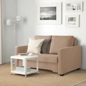 БЭККСЕДА 2-местный диван-кровать, Сандсбру бежевый - 404.825.96