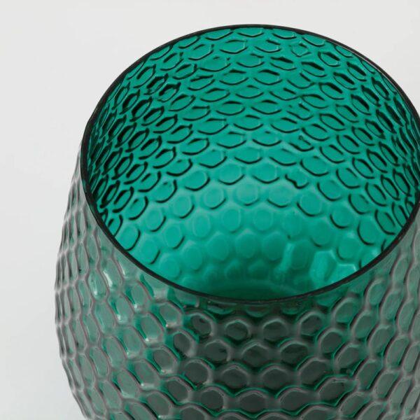 БЕСКАФФАД Подсвечник, зеленый 20 см - 805.018.66