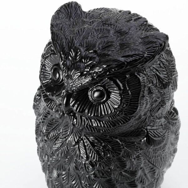 ЭРИНРА Украшение, сова черный 22 см - 205.019.49
