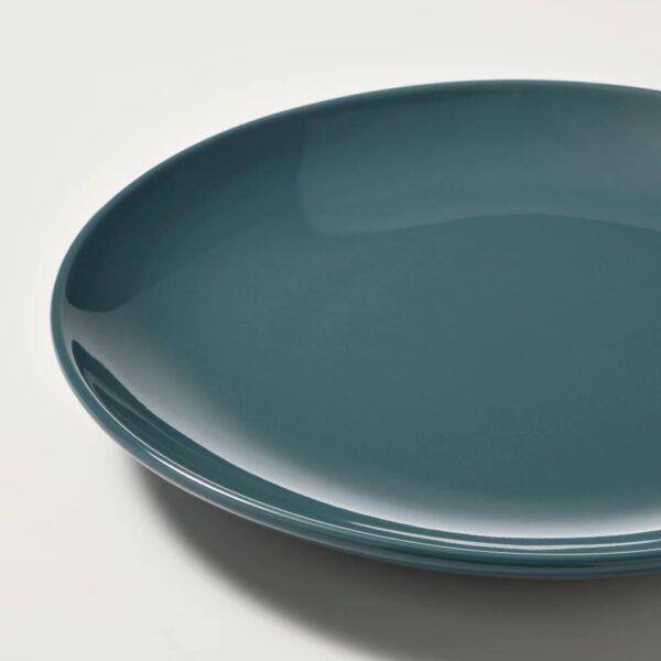 ФЭРГКЛАР Тарелка десертная, полированный темная бирюза 20 см - 104.771.67