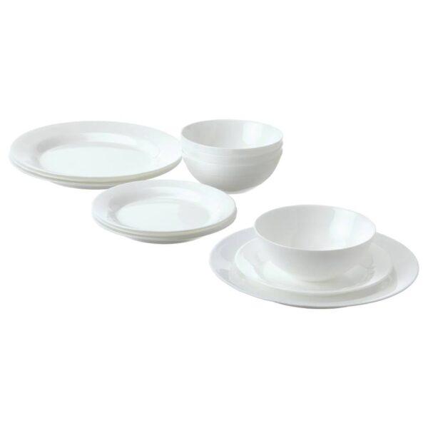 ФАВОРИСЕРА Сервиз,12 предметов, белый - 204.586.01