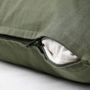 ГУРЛИ Чехол на подушку, насыщенный зеленый 50x50 см - 404.992.24