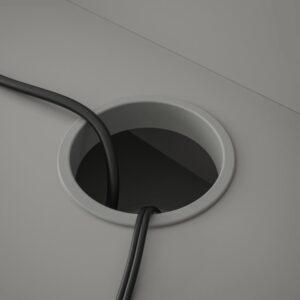 ХАУГА Письменный стол, серый 100x45 см - 104.776.76