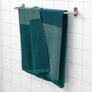 ХИМЛЕОН Простыня банная, бирюзовый/меланж 100x150 см - 704.918.39