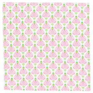 ИНБЬЮДЕН Салфетка, белый/розовый 45x45 см - 604.914.39