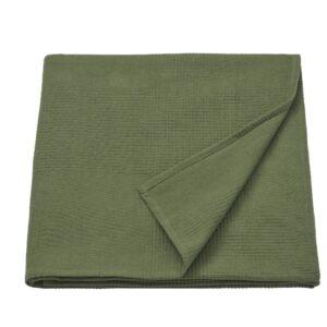 ИНДИРА Покрывало, темно-зеленый 150x250 см - 204.955.09