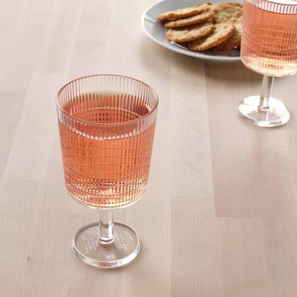 Бокал для вина, прозрачный пластик 32 сл - 104.819.18