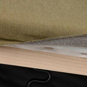 КЛИППАН Чехол на 2-местный диван, Висле желто-зеленый - 705.098.63