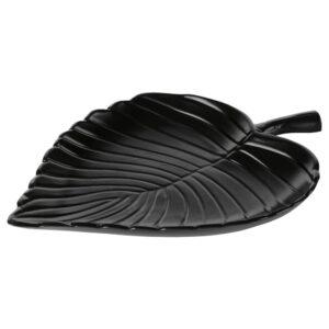 КНАСТРИГТ Украшение, лист, черный 22x16 см - 305.019.39