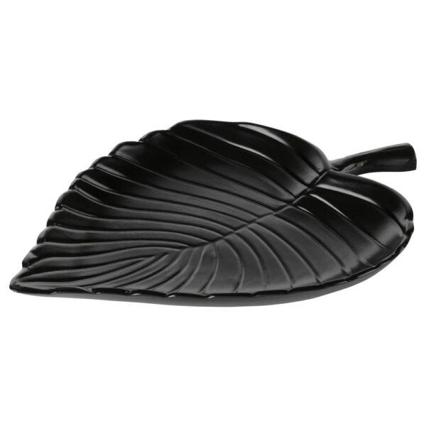 КНАСТРИГТ Украшение, лист, черный 31x23 см - 905.019.41