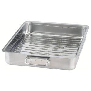КОНСИС Форма для духовки с решеткой, нержавеющ сталь 40x32 см - 303.721.74