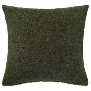 КРЮДДБУСКЕ Чехол на подушку, темно-зеленый 50x50 см - 204.925.15