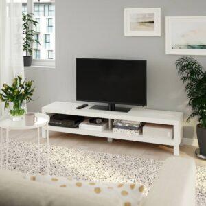 ЛАКК Тумба под ТВ, белый 160x35x36 см - 904.989.29