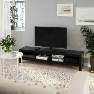 ЛАКК Тумба под ТВ, черно-коричневый 160x35x36 см - 104.989.14