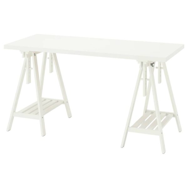 ЛАГКАПТЕН / МИТТБАКК Письменный стол, белый 140x60 см - 094.171.98