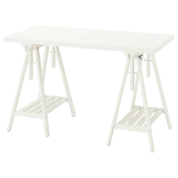 ЛАГКАПТЕН / МИТТБАКК Письменный стол, белый 120x60 см - 894.167.98