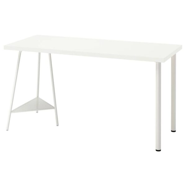 ЛАГКАПТЕН / ТИЛЛЬСЛАГ Письменный стол, белый 140x60 см - 194.171.88