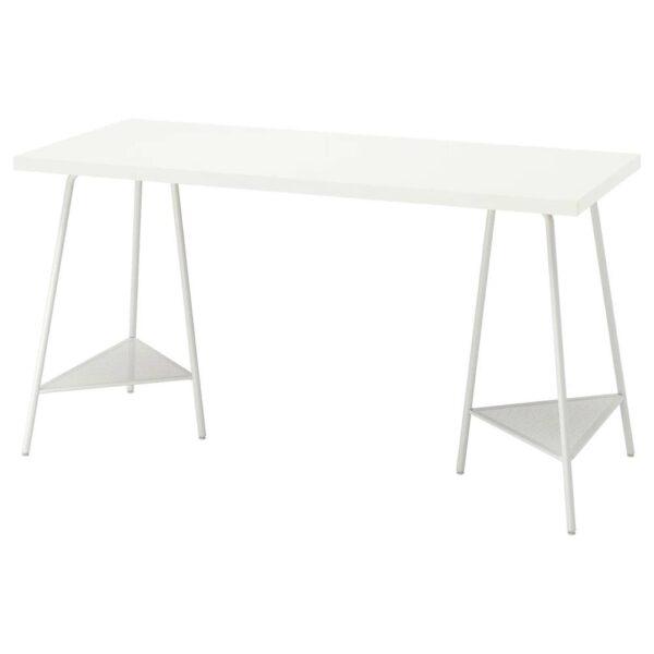 ЛАГКАПТЕН / ТИЛЛЬСЛАГ Письменный стол, белый 140x60 см - 894.172.03