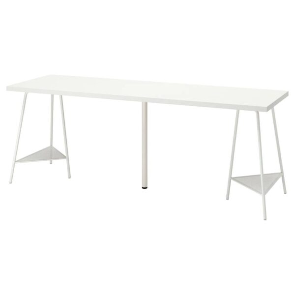 ЛАГКАПТЕН / ТИЛЛЬСЛАГ Письменный стол, белый 200x60 см - 794.176.18