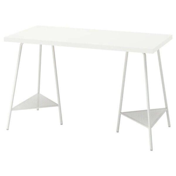 ЛАГКАПТЕН / ТИЛЛЬСЛАГ Письменный стол, белый 120x60 см - 394.168.09