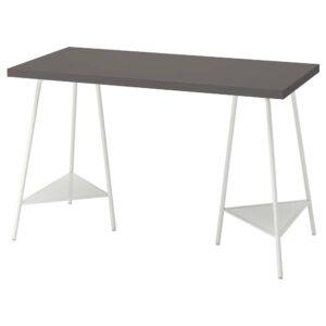 ЛАГКАПТЕН / ТИЛЛЬСЛАГ Письменный стол, темно-серый/белый 120x60 см - 994.167.45