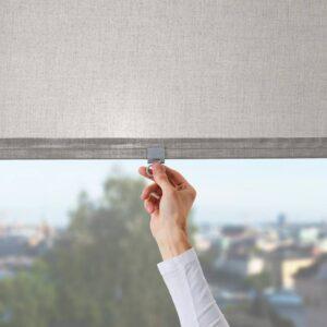 ЛОНГДАНС Рулонная штора, серый 80x195 см - 704.697.20